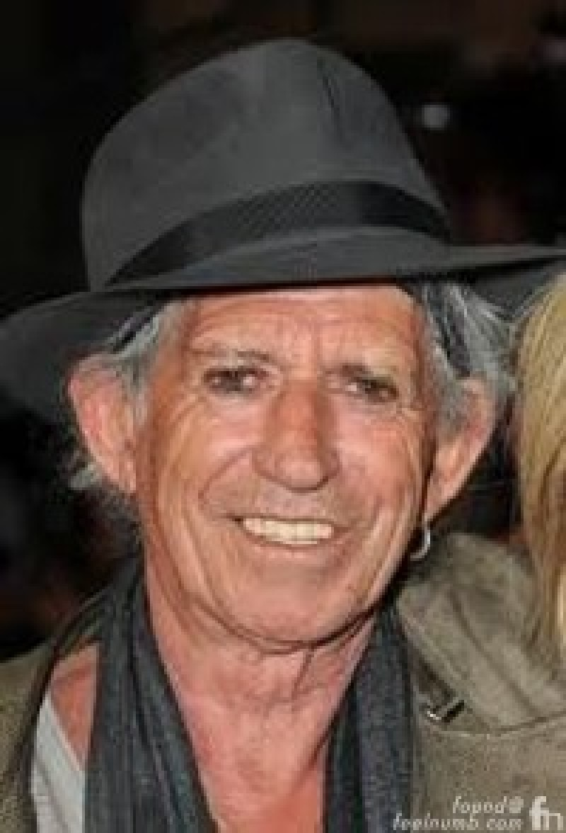 Keith Richards as Mother Teresa