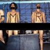 "Rage Against The Machine Protest ""PMRC"" Naked On Stage"