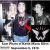 "Keith Moon Wore A McCartney ""Wings"" Band Shirt The Night He Died"