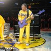 Flea Playing The National Anthem At Lakers & Dodger Games