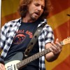 Eddie Vedder Tribute To Howard Zinn On His Fender Telecaster Guitar
