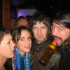 Cool Photo: Noel Gallagher, Dave Grohl, Pink & Juliette Lewis