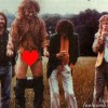 Robert Plant Exposing Himself During Led Zeppelin Photo Shoot