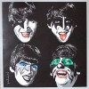 The Beatles In KISS Make-Up By Mr. Brainwash