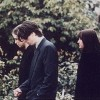 Dave Grohl & Krist Novoselic At Kurt Cobain's Funeral Service
