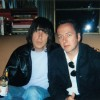 Punk Legends: Johnny Ramone & Joe Strummer Hanging Out