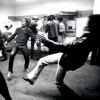 Fake!!! Photo Of Bob Marley & Jimi Hendrix Playing Soccer Backstage