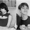 Dee Dee Ramone & 13-Year Old Anthony Kiedis Wearing The Same Detroit Shirt