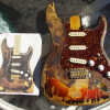 The Famous Zappa/Hendrix Burnt Guitar