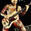 Flea's '61 Shell Pink Fender Jazz Bass With D. Boon Sticker