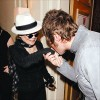 Liam Gallagher & Yoko Ono Meet