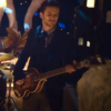 "Guy Berryman Using A Paul McCartney Hofner Violin Bass In Coldplay's New ""Christmas Lights&quot..."