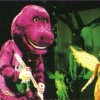 Kurt Cobain Dressed As Barney For Halloween Show 1993