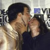 Dave Grohl Kisses Krist Novoselic Again But This Time With Tounge