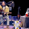 Eddie Vedder & Pearl Jam's Stage Bat Wings Were A Gift From The Frogs