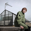 Liam Gallagher On Rooftop Of The Beatles Apple Building 3 Savile Row
