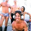 "Chad Smith & John Frusciante Flashing Their ""Ball Sack"""