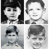 "The ""Little"" Beatles As School Children"