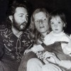Classic Photo: Paul McCartney With Linda, Daughter Mary & A Joint