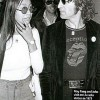"John Lennon Wearing A Rolling Stones ""Tongue"" Shirt"