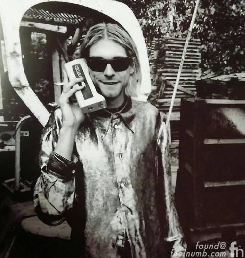 Kurt Cobain Phone Telephone Message Victoria Clark