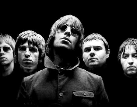 The Beatles and Oasis   Oasis Band Wonderwall