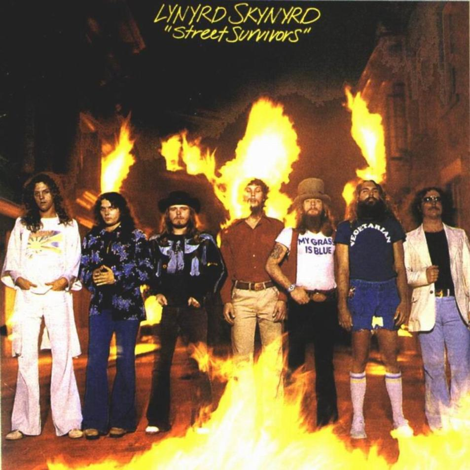 "Lynyrd Skynyrd ""Street Survivors"" Album Cover Change After ... Lynyrd Skynyrd Plane Crash Survivors"