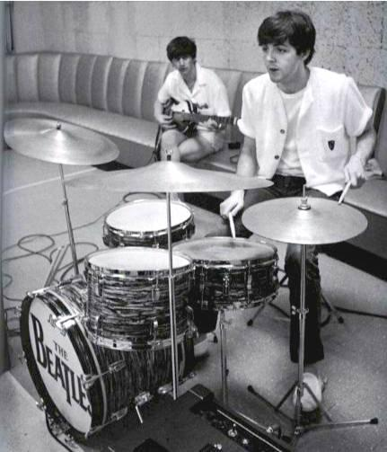 Beatles Songs Paul McCartney Plays Drums On
