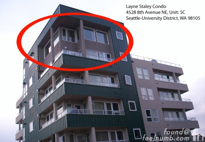 Layne Staley Condo Death Location Seattle Washington Alice In Chains