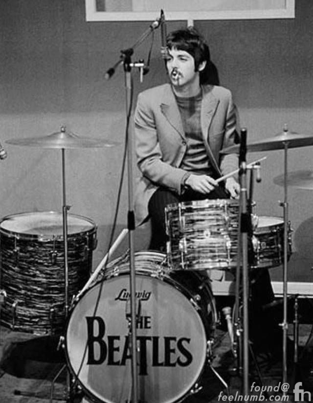 Paul McCartney Playing Drums The Beatles White Album Tracks 1968