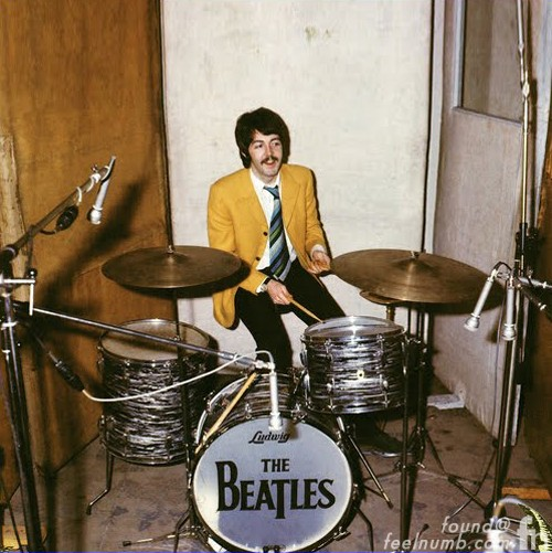 Image result for paul mccartney playing drums