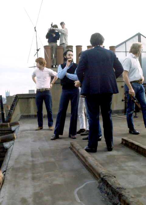 Paul McCartney Saville Row Rooftop Concert The Beatles