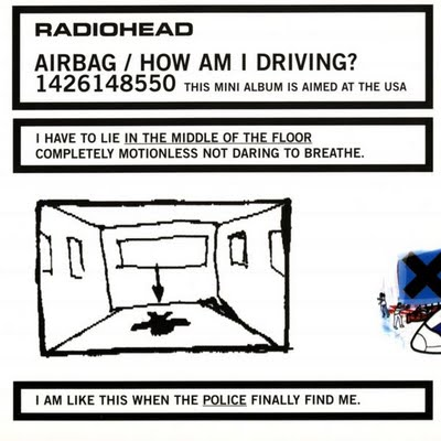 Radiohead Airbag EP Thom Yorke Pager Number