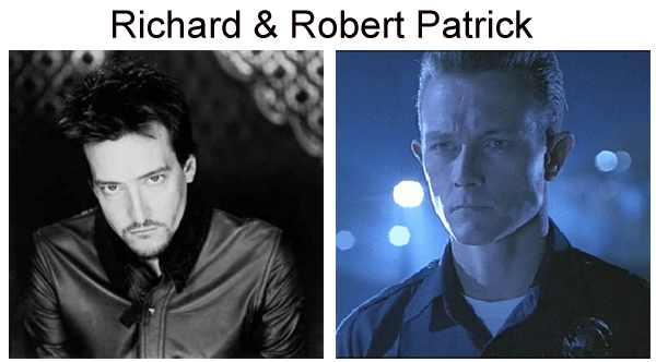 Robert Patrick Richard Patrick T-1000 Filter