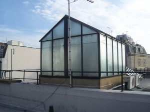 glass house beatles rooftop savile row