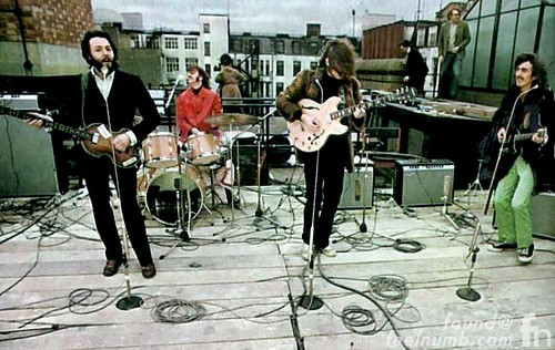 The Beatles January 30, 1969 Apple Records 3 Savile Row Rooftop Concert