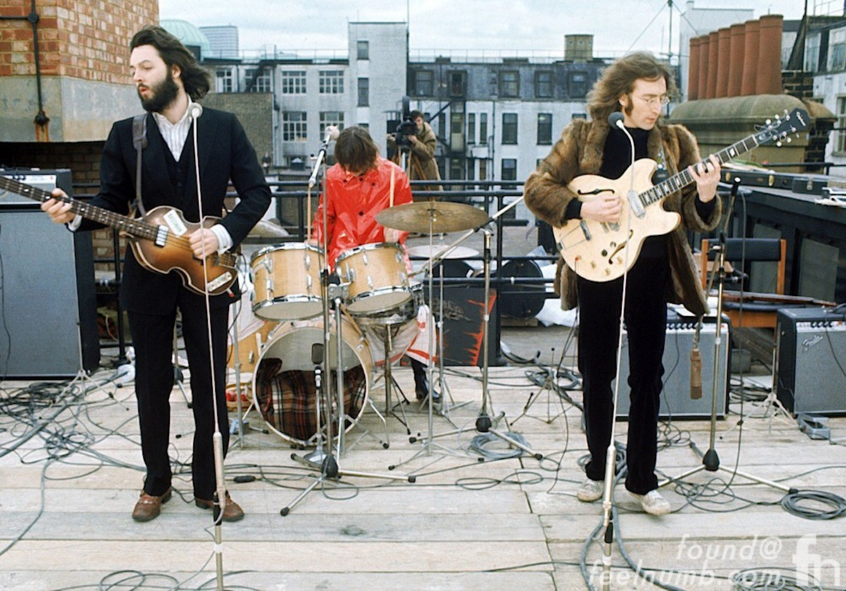 The Beatles Apple Records Roof January 30, 1969 Last Concert