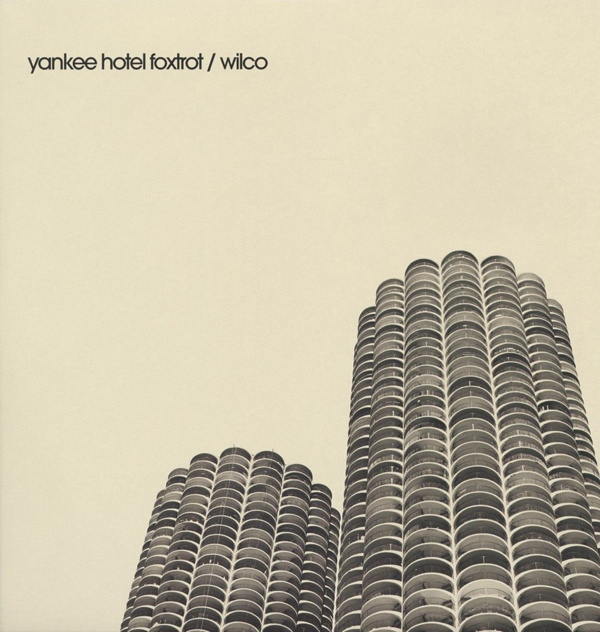 Wilco Yankee Hotel Foxtrot Album Cover Photo Marina City Chicago