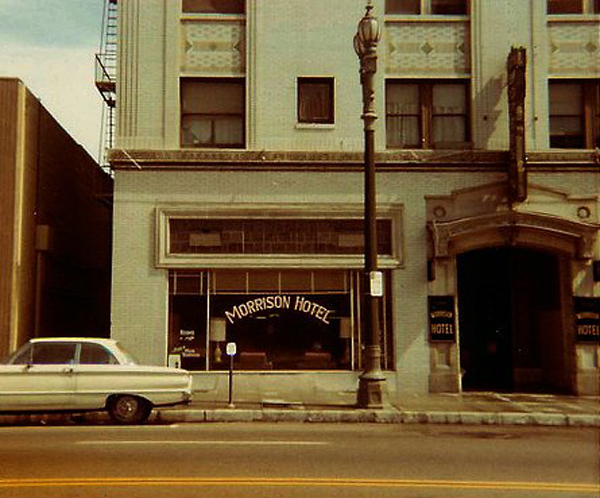 Morrison Hotel Vintage Photo Los Angeles The Doors South Hope Street