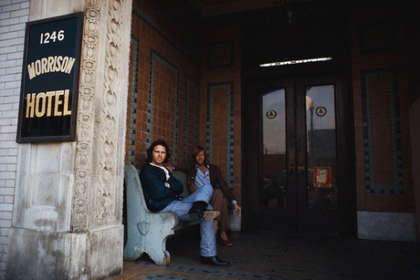 Morrison Hotel Jim Morrison Location South Hope Street Los Angeles California