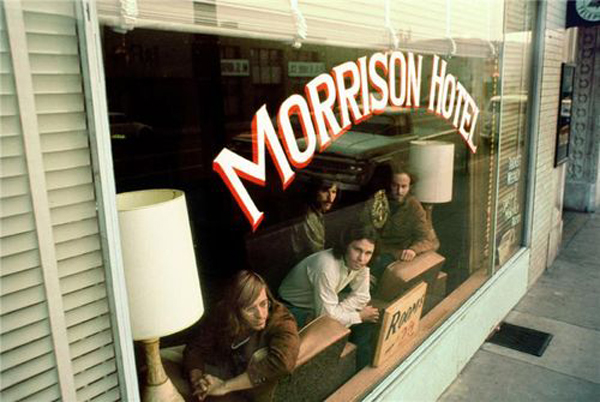 Morrison Hotel Location Los Angeles California South Hope Street The Doors