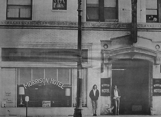 The Doors Morrison Hotel Promo Poster