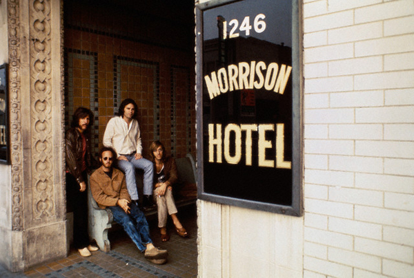 The Doors Morrison Hotel Photo Session