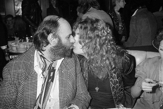 Peter Grant Robert Plant Kissing