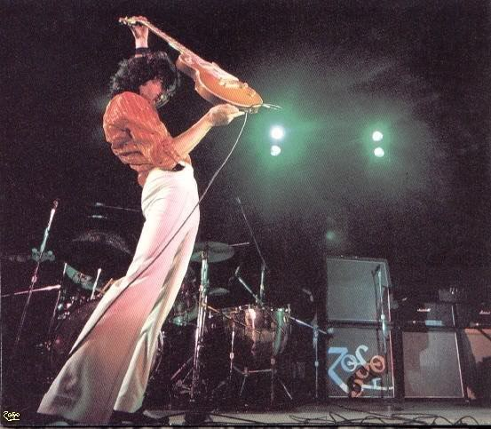 Led Zeppelin Jimmy Page ZOSO Logo On Amplifier