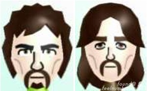 George Harrison Nintendo Wii Mii Character The Beatles