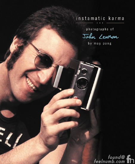 Instamatic Karma John Lennon Paul McCartney Lasy Photo