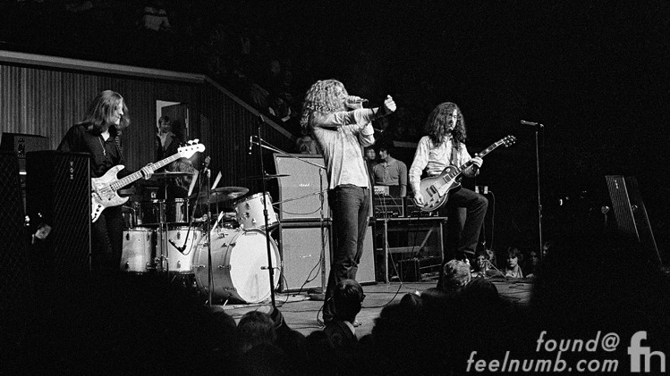 Led Zeppelin The Nobs Copenhagen Denmark February 28, 1970