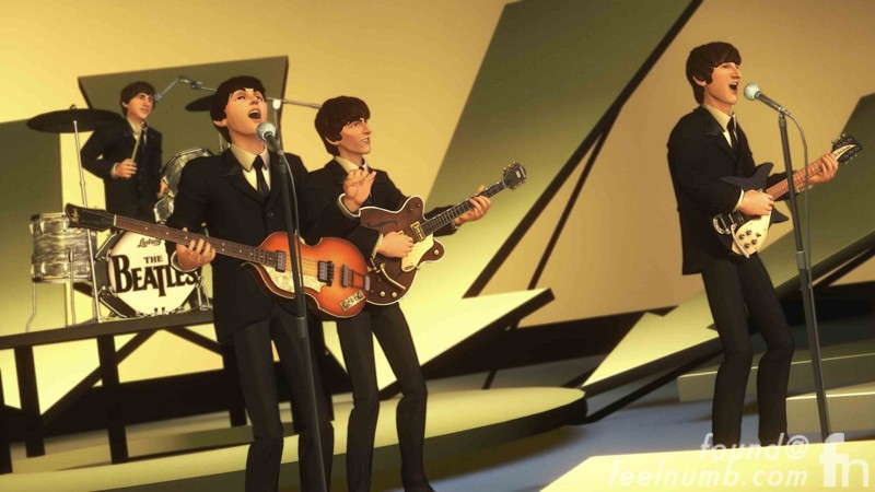 The Beatles Rockband Nintendo Wii Mii Chracters