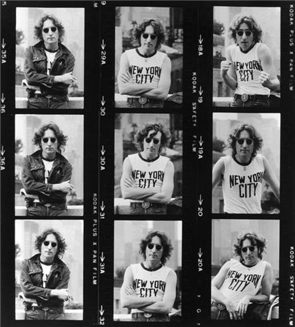 John Lennon New York City Shirt 1974 Bob Gruen